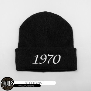 Zimska kapa sa vezom natpisa po želji klijenta