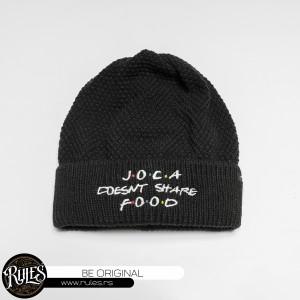 Rules pletena kapa sa vezom motiva po zahtevu klijenta