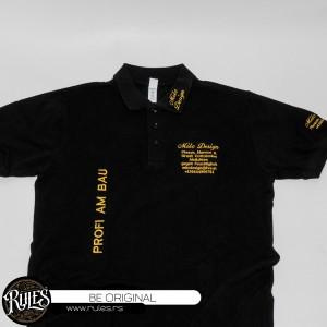 Polo majica sa vezom logoa po zahtevu klijenta