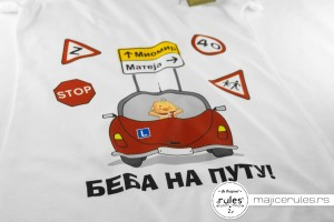 Rules majica sa stampom ideje kupca