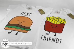 Rules majice sa štampom ideje kupca