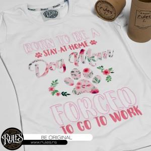 Rules majica sa vezom i štampom po zahtevu klijenta