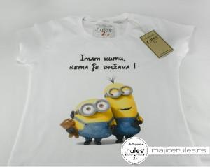 Rules majica sa štampom ideje kupca