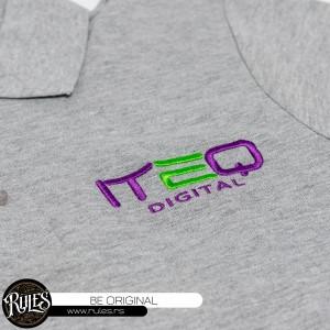 Polo majica sa vezom logoa klijenta