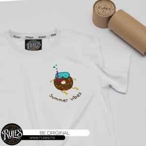 Rules majica sa vezom logoa po želji kupca