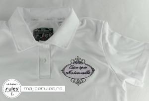 Rules majica sa kragnicom i vezom logoa klijenta