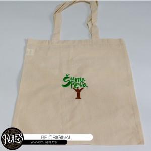 Pamucna torba sa vezom logoa po zahtevu klijenta